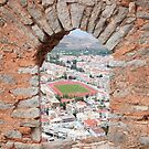 View from Palamidi Castle by zumi