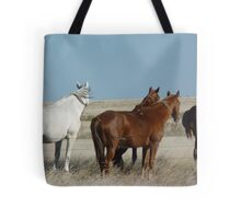 There's a cold wind  blowing #1 Camooweal Northern Territory  Tote Bag