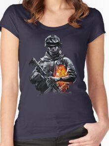 Battlefield Games Women's Fitted Scoop T-Shirt