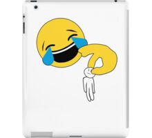 When you get picked on by emojis! iPad Case/Skin