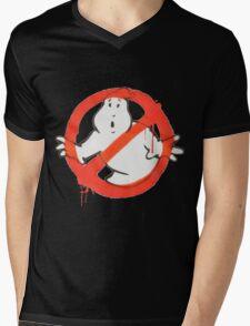 Ghostbusters Logo Mens V-Neck T-Shirt