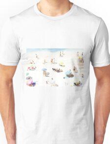 Beach - happy days Unisex T-Shirt