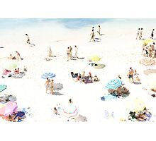 Beach - happy days Photographic Print
