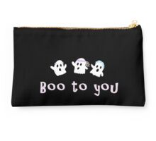 Boo to you Studio Pouch