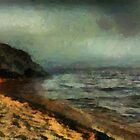 Sunset at Silver Bay by RC deWinter