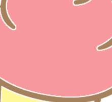 Cupcake love. Sticker