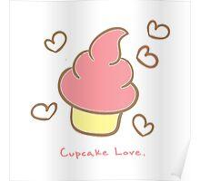 Cupcake love. Poster