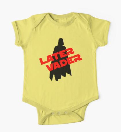 Later Vader One Piece - Short Sleeve