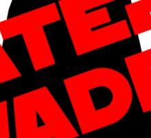 Later Vader Sticker