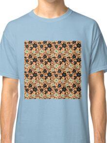 lilies flower seamless pattern pink salmon Classic T-Shirt