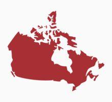 Canada map Kids Tee