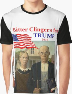 Bitter Clingers for Trump Graphic T-Shirt