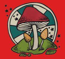 Mushroom Baby Tee