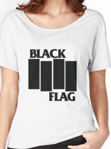 Black Flag Shirt Women's Relaxed Fit T-Shirt