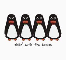 Penguins Wearing Bow Ties Baby Tee