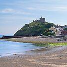 Criccieth Castle and Beach by hootonles