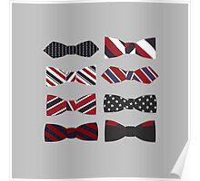 heart eyes and bow ties Poster