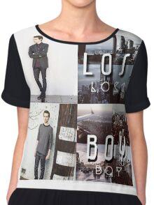 Robbie Kay Lost Boy edit  Chiffon Top