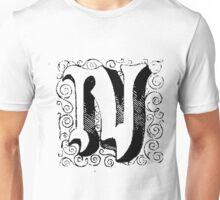 Block Alphabet Letter N Unisex T-Shirt
