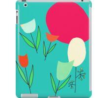 tulips in retromood 2 iPad Case/Skin