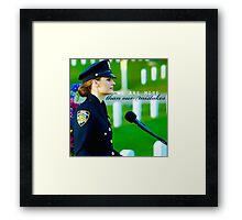 BECKETT - S3 Framed Print