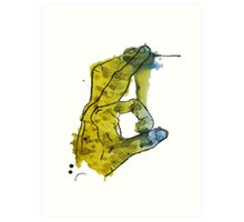 OK Hand Sign Art Print