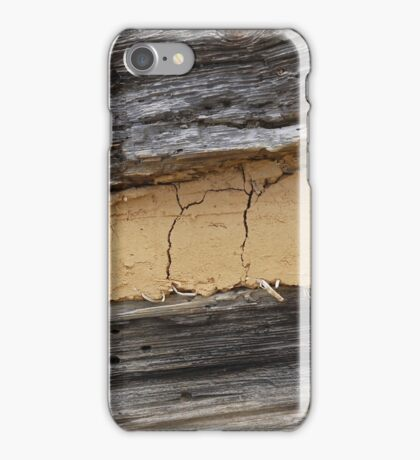 Cracks and Worm Holes iPhone Case/Skin