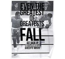 Even The Greatest Of Greatests Fall Poster