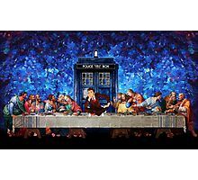 The Doctor Lost in the last Supper Photographic Print