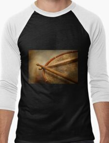 Music - Drum - Cadence  Men's Baseball ¾ T-Shirt