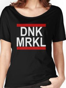 DNK MRKL - Danke Merkel! Women's Relaxed Fit T-Shirt