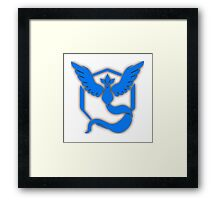 Team Mystic Framed Print