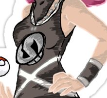 Team Skull Girl Grunt Sticker