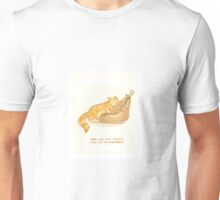 cattism 33: make sure your plastic bags are biodegradable Unisex T-Shirt