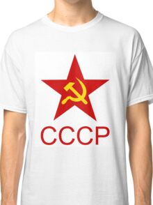 Soviet Red Star, T-Shirt Design Classic T-Shirt