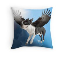 Bené Flying Throw Pillow