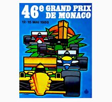 """MONACO"" Vintage Grand Prix Auto Print Unisex T-Shirt"