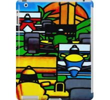 """MONACO"" Vintage Grand Prix Auto Print iPad Case/Skin"