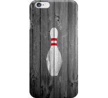 Bowling Pin - Wood iPhone Case/Skin