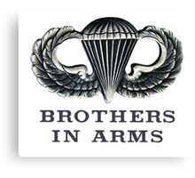 Jump Wings - Brother in Arms Canvas Print