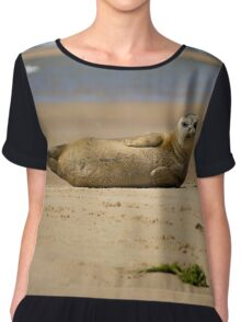 Amazing Seal Pup Chiffon Top