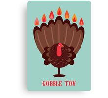 Happy Thanksgivukkah! Canvas Print