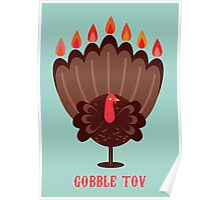 Happy Thanksgivukkah! Poster