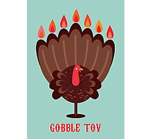 Happy Thanksgivukkah! Photographic Print