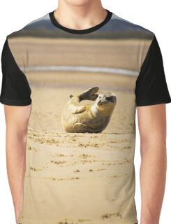 Cool Seal Pup Graphic T-Shirt