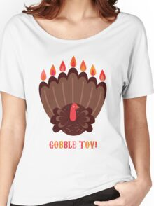 Gobble Tov! Women's Relaxed Fit T-Shirt