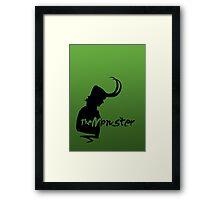 Join the Monster Framed Print