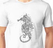 Sugar Skull Seahorse Unisex T-Shirt