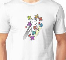 Death by DDR notes! (without blood) Unisex T-Shirt