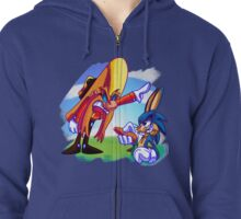 What's Up Doc? Zipped Hoodie